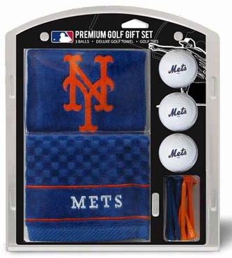 New York Mets Embroidered Towel Gift Set