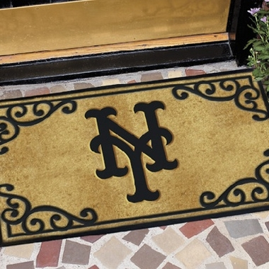 New York Mets Exterior Door Mat
