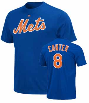 New York Mets Gary Carter Name and Number T-Shirt