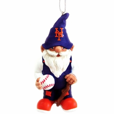 New York Mets Gnome Christmas Ornament