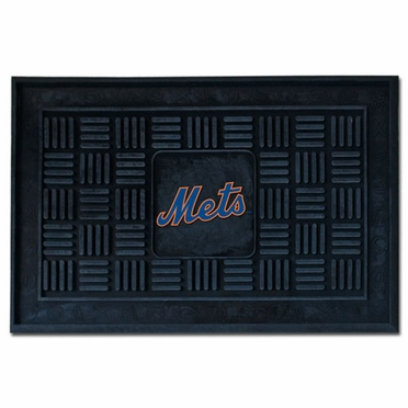 New York Mets Heavy Duty Vinyl Doormat