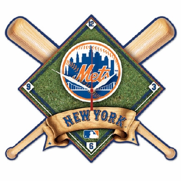 New York Mets High Definition Wall Clock