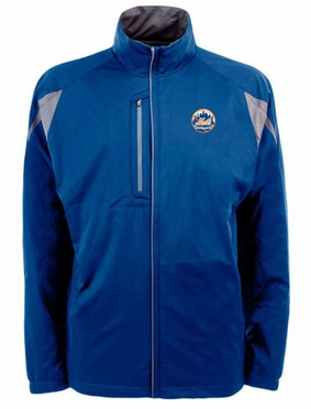 New York Mets Mens Highland Water Resistant Jacket (Team Color: Royal)
