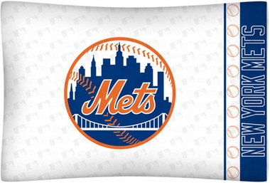 New York Mets Individual Pillowcase