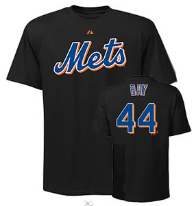New York Mets Jason Bay Name and Number T-Shirt - XX-Large