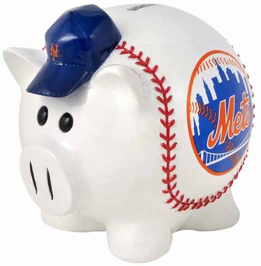 New York Mets Large Thematic Piggy Bank