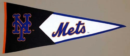 New York Mets Large Wool Pennant