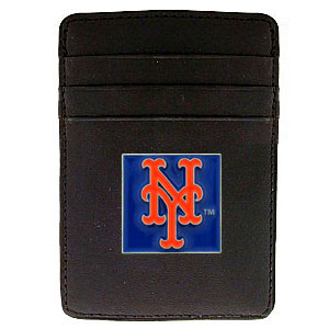 New York Mets Leather Money Clip (F)