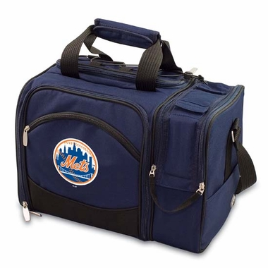 New York Mets Malibu Picnic Cooler (Navy)