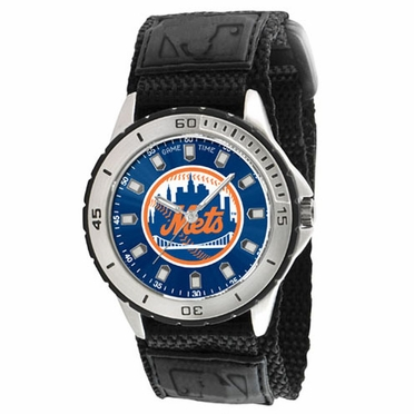 New York Mets Mens Veteran Watch