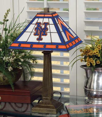 New York Mets Mission Lamp