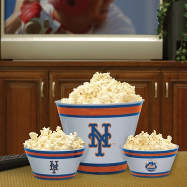 New York Mets Plastic Serving Set