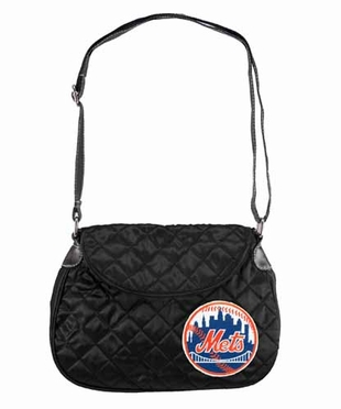 New York Mets Quilted Saddlebag