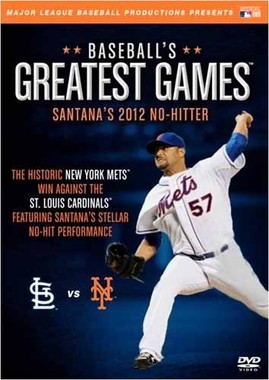 New York Mets Santana's 2012 No-Hitter DVD