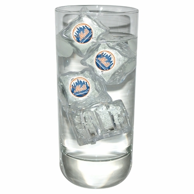 New York Mets Set of 4 Light Up Ice Cubes