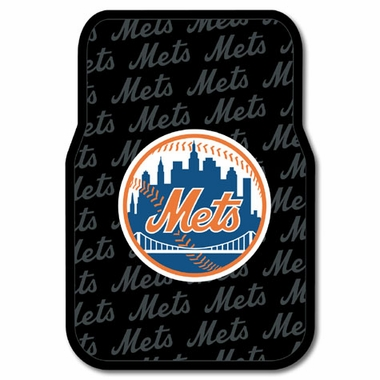 New York Mets Set of Rubber Floor Mats