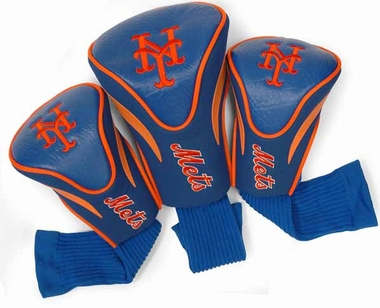 New York Mets Set of Three Contour Headcovers