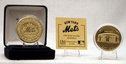 New York Mets SHEA STADIUM GOLD COIN