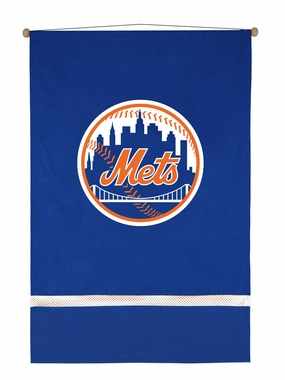 New York Mets MVP Microsuede Wallhanging
