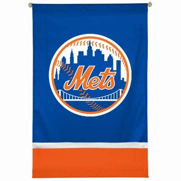 New York Mets SIDELINES Jersey Material Wallhanging