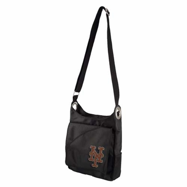 New York Mets Sport Noir Sheen Crossbody Bag
