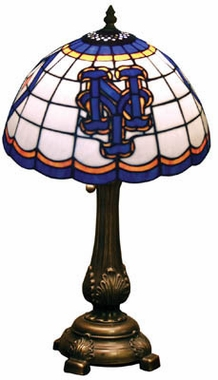 New York Mets Stained Glass Table Lamp