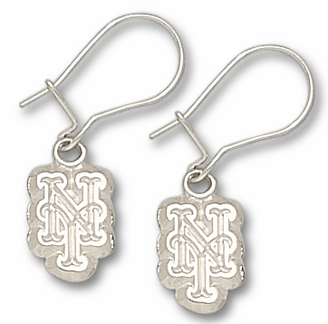 New York Mets Sterling Silver Post or Dangle Earrings