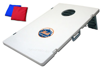New York Mets Tailgate Toss 2.0 Cornhole Beanbag Game