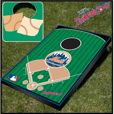 New York Mets Tailgate Toss Cornhole Beanbag Game