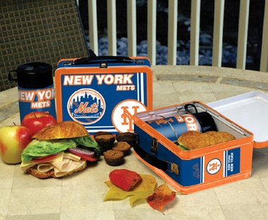 New York Mets Tin Lunch Box