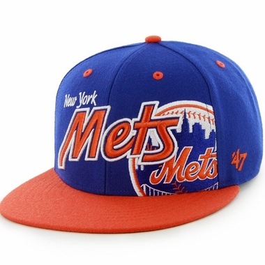 New York Mets Underglow MVP Snap Back Hat
