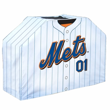 New York Mets Uniform Grill Cover
