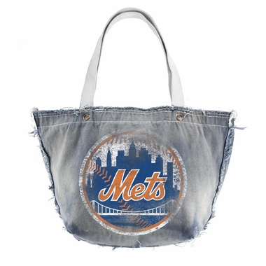 New York Mets Vintage Tote (Denim)
