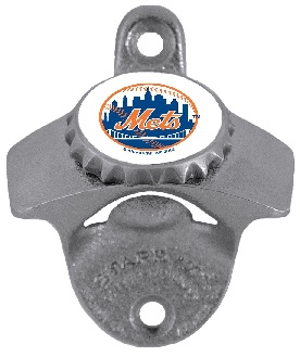 New York Mets Wall Mount Bottle Opener