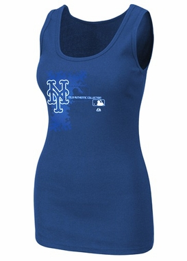 New York Mets Womens AC Change Up Tank Top