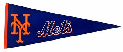 New York Mets Wool Pennant