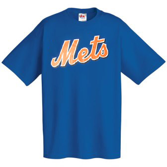 New York Mets Wordmark T-Shirt