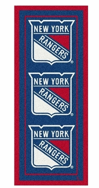 "New York Rangers 2'1"" x 7'8"" Premium Runner Rug"