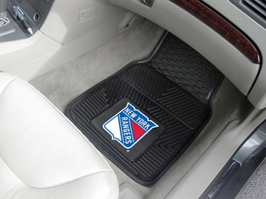 New York Rangers 2 Piece Heavy Duty Vinyl Car Mats