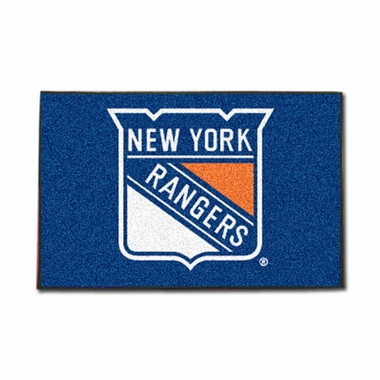 New York Rangers 20 x 30 Rug