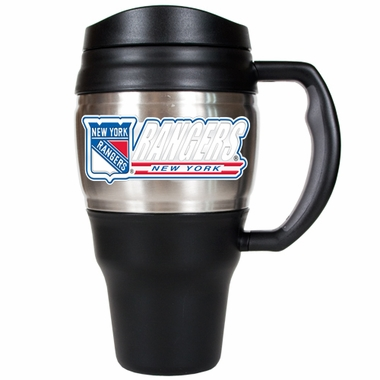 New York Rangers 20oz Oversized Travel Mug