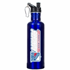 New York Rangers 26oz Stainless Steel Water Bottle (Team Color)
