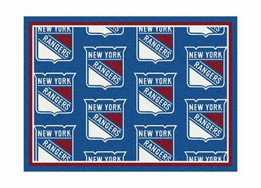 "New York Rangers 3'10"" x 5'4"" Premium Pattern Rug"