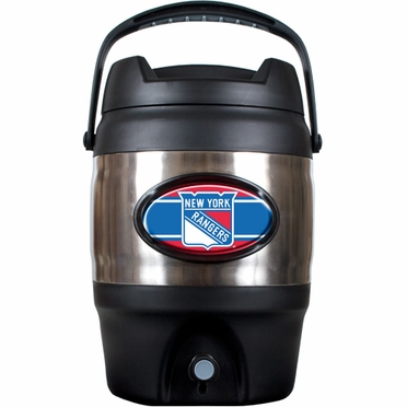 New York Rangers 3 Gallon Stainless Steel Jug