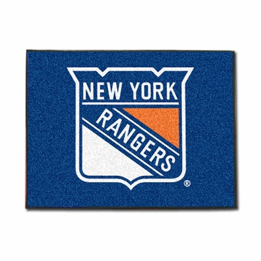 New York Rangers 34 x 45 Rug
