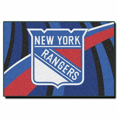 New York Rangers 40 x 60 Rug