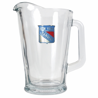 New York Rangers 60 oz Glass Pitcher