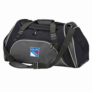 New York Rangers Action Duffle (Color: Black)