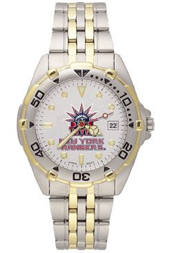 New York Rangers All Star Mens (Steel Band) Watch