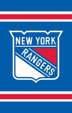 New York Rangers Applique Banner Flag